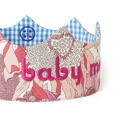 baby mama crown detail girl side