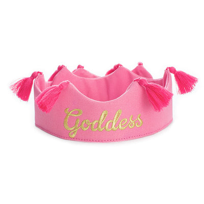 Goddess Crown Pink