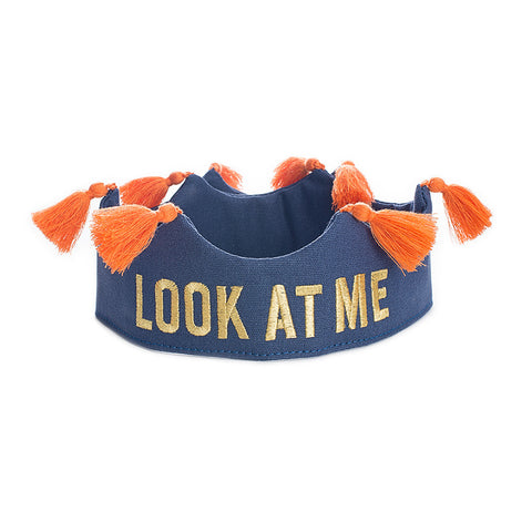 Look at Me Crown Navy