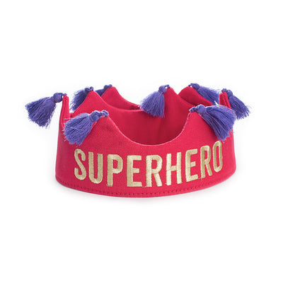 Superhero Crown Red