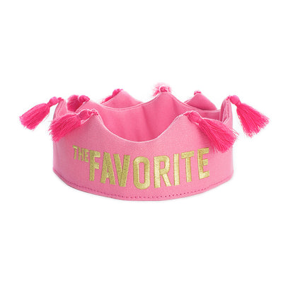The Favorite Tassel Crown - Pink