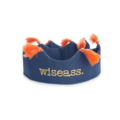 Wiseass Crown Navy