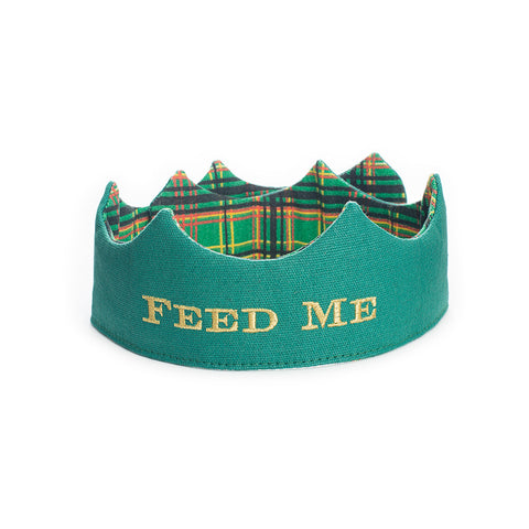 Christmas Feed Me Party Crown