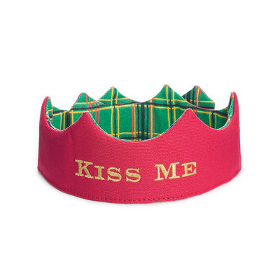 Christmas Kiss Me Party Crown