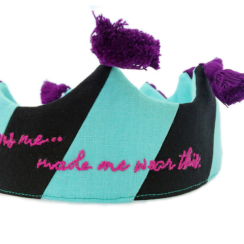 Someone who loves me.... Black and mint w/ tassels