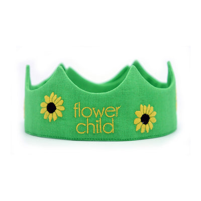 Toddler crown - Flower Child
