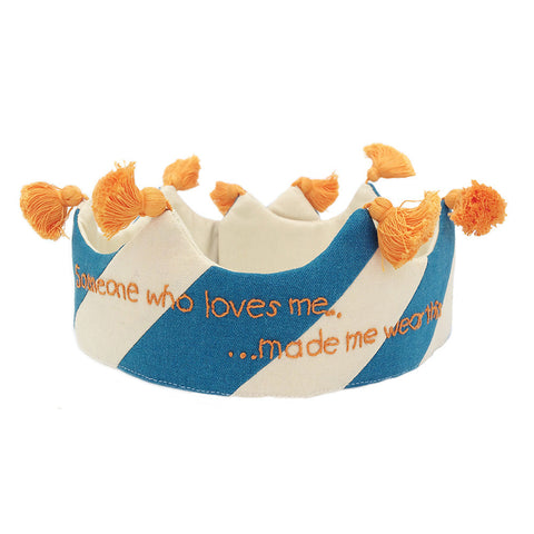 Someone who loves me.... Orange and Blue w/ tassels