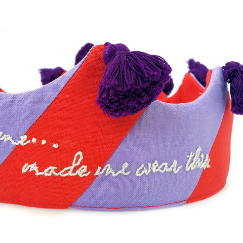 Someone who loves me.... Red and purple w/ tassels
