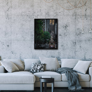 """Cable Car"" - Gallery Wrapped Canvas by Bobby Lee"