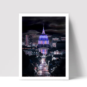 """San Francisco City Hall"" - Photographic Print by Bobby Lee"