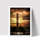 """Couple By Golden Gate"" - Photographic Print by Bobby Lee"