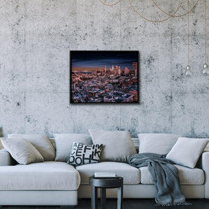 """Looking Back From North Beach"" - Gallery Wrapped Canvas by Bobby Lee"