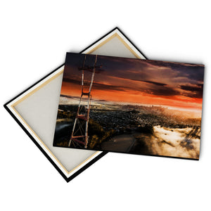"""Sutro Tower, Twin Peaks"" - Gallery Wrapped Canvas by Bobby Lee"