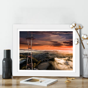 """Sutro Tower, Twin Peaks"" - Photographic Print by Bobby Lee"