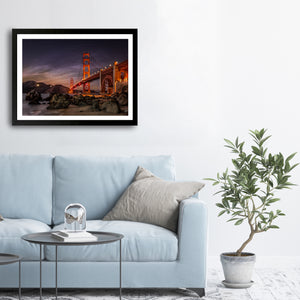 """Golden Gate Bridge"" - Photographic Print By Bobby Lee"