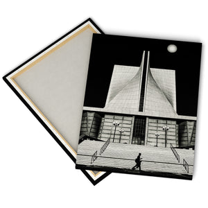 """St Mary's Church""  - Gallery Wrapped Canvas by Bobby Lee"