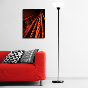 """Golden Gate Tower""  - Gallery Wrapped Canvas by Bobby Lee"