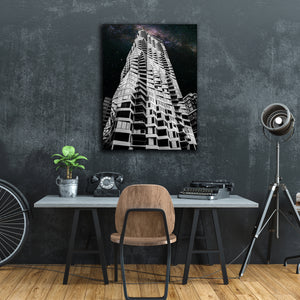 """Mira Tower""  - Gallery Wrapped Canvas by Bobby Lee"