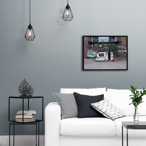 """Caravan"" - Gallery Wrapped Canvas by Peter Dench"