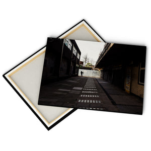 """Concrete Street"" - Gallery Wrapped Canvas by Peter Dench"