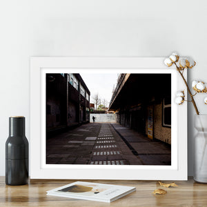 """Concrete Street"" - Photographic Print by Peter Dench"