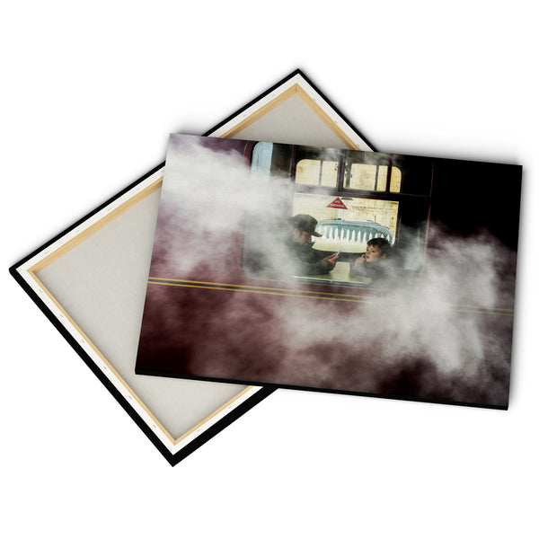 """Steam Train"" - Gallery Wrapped Canvas by Peter Dench"
