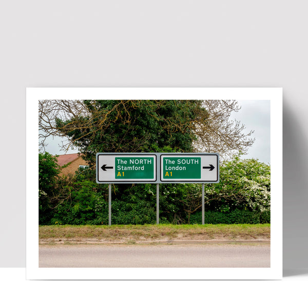 """North and South"" - Photographic Print by Peter Dench"