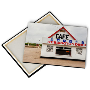 """Stibbington Diner"" - Gallery Wrapped Canvas by Peter Dench"