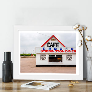 """Stibbington Diner"" - Photographic Print by Peter Dench"