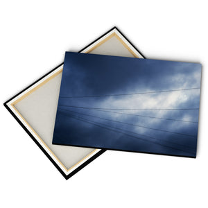"""Telephone Wires"" - Gallery Wrapped Canvas by Peter Dench"