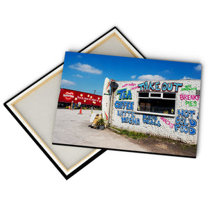 """Take Out"" - Gallery Wrapped Canvas by Peter Dench"
