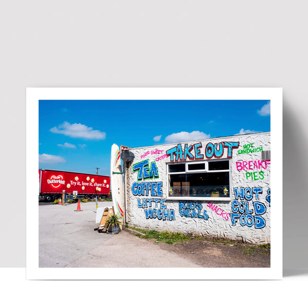 """Take Out"" - Photographic Print by Peter Dench"