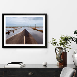 """Road Into The Sea"" - Photographic Print by Peter Dench"