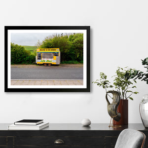 """Welcome To The Border"" - Photographic Print by Peter Dench"