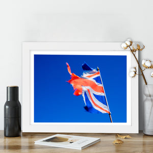 """Ripped Union Jack"" - Photographic Print by Peter Dench"