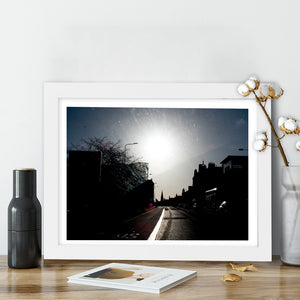 """Town Silhouette"" - Photographic Print by Peter Dench"