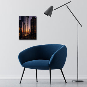"""Highrise"" - Gallery Wrapped Canvas by Ron Timehin"