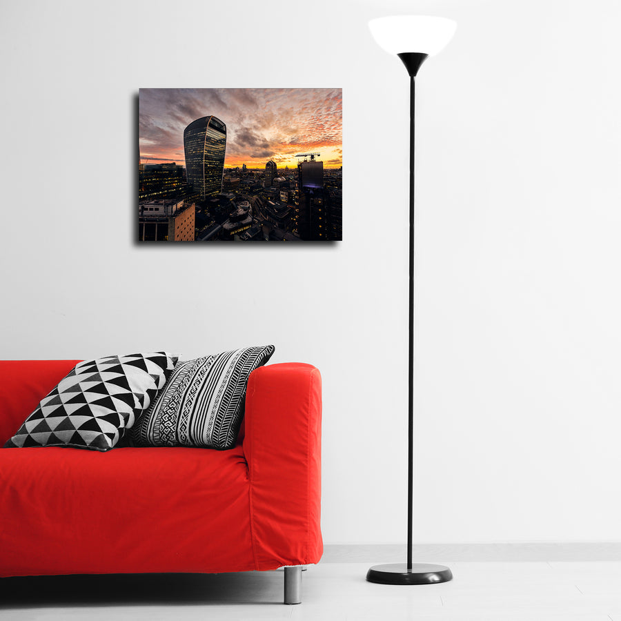 """Walkie Talkie"" - Gallery Wrapped Canvas by Ron Timehin"