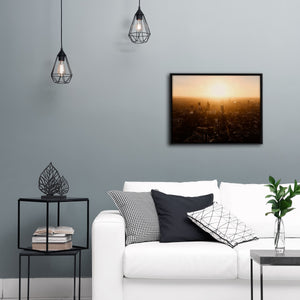 """London Glow"" - Gallery Wrapped Canvas by Ron Timehin"
