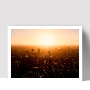 """London Glow"" - Photographic Print by Ron Timehin"