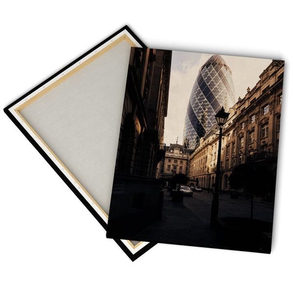 """St Helen's Place"" - Gallery Wrapped Canvas by Ron Timehin"