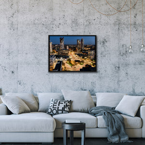 """Elephant & Castle"" - Gallery Wrapped Canvas by Ron Timehin"