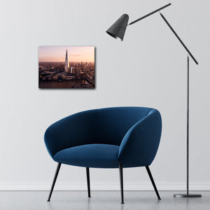 """The Shard"" - Gallery Wrapped Canvas by Ron Timehin"