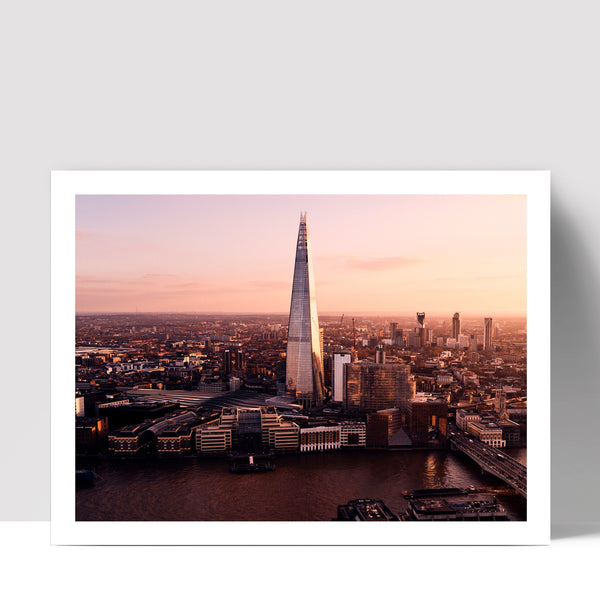 """The Shard"" - Photographic Print by Ron Timehin"