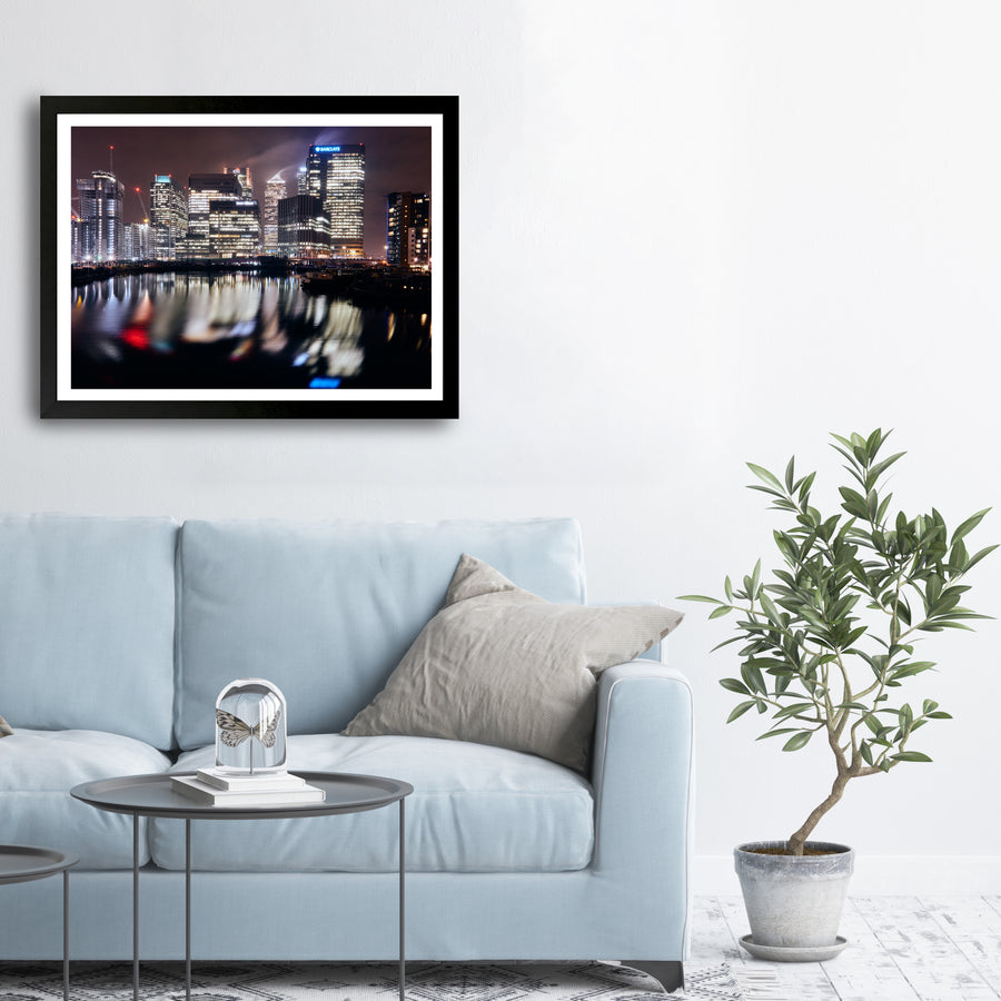 """Canary Wharf Reflection"" - Photographic Print by Ron Timehin"