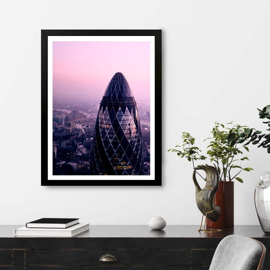 """The Gherkin"" - Photographic Print by Ron Timehin"