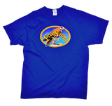Blue Falcon Oval T-Shirt