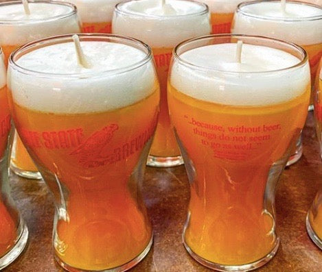 Mini Beer Glass Candle