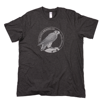 Gray Circle Logo T-Shirt