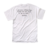 Men's - white - back